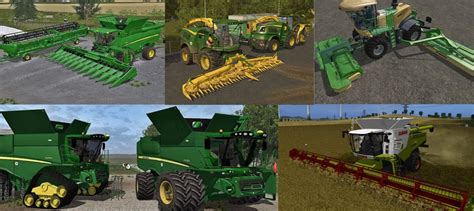 best farming simulator mods best combines mods pack collection ls17 fs2017 farming