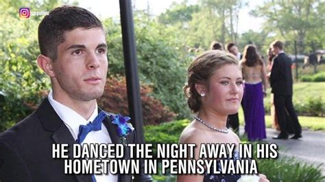 christian pulisic family christian pulisic attended prom the night before scoring