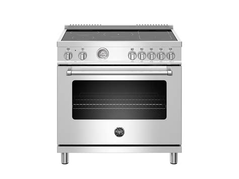 oven electric range with induction cooktop 36 inch induction range 5 heating zones electric oven