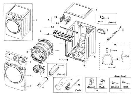 samsung dryer parts model dv42h5200gpa30000 sears partsdirect