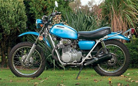 Honda Sl350 by Sports Cycle Honda Sl350 History The Stopgap Scrambler