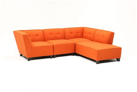 Living Spaces Sectional by Benton 4 Sectional Living Spaces