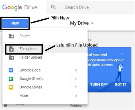 syarat untuk membuat google drive cara mudah daftar dan upload file di google drive