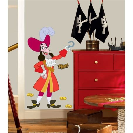 Jake And The Neverland Room Decor by Jake And The Never Land Captain Hook Wall