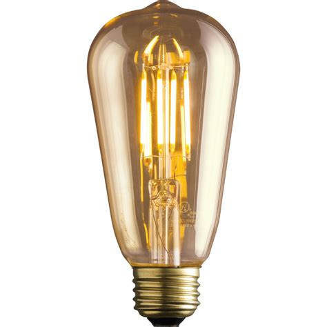 Kichler Light Bulbs Shop Kichler Vintage 60w Equivalent Dimmable Vintage Led Decorative Light Bulb At Lowes
