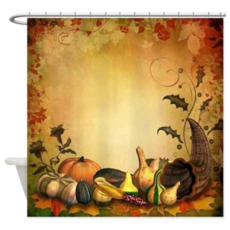 thanksgiving bathroom decor thanksgiving shower curtain