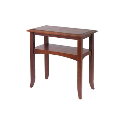 hall accent table craftsman hall table antique walnut in accent tables