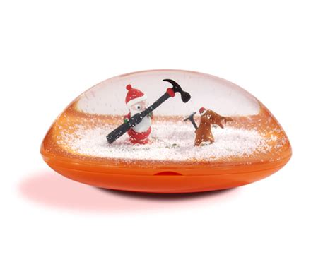 Snomee Snow Globe Gift Card Holder - inspired by savannah holiday gift ideas the snomee gift card holder snow globe