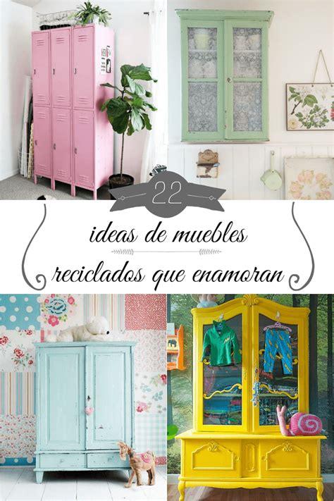 muebles reciclados 22 ideas de muebles reciclados que enamoran gu 237 a de