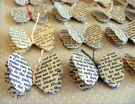 Decorating Ideas Using Books Make Decorate With Books Or Book Pages It S Always Autumn