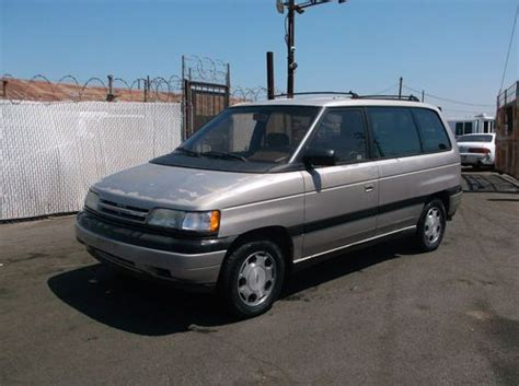 how does cars work 1990 mazda mpv on board diagnostic system buy used 1990 mazda mpv no reserve in orange california
