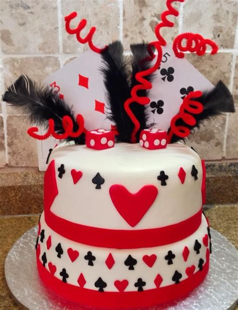 Gift Card Cake - playing cards cake card party pinterest