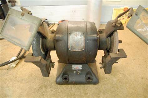 old bench grinder photo index millers falls co model 706 bench grinder