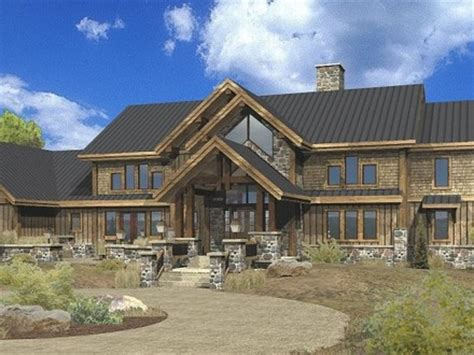 log modular home plans log home floor plans large log