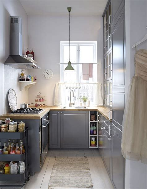 Attrayant Cuisine Amenagee Pour Petite Piece #3: 7ca0c9f30fa62fc0871e3837ee41303d--small-kitchens-gray-kitchens.jpg