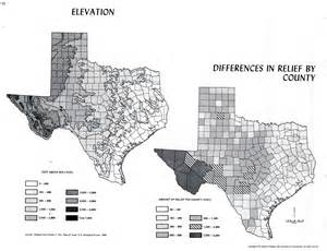 Elevation Tx Atlas Of Perry Casta 241 Eda Map Collection Ut