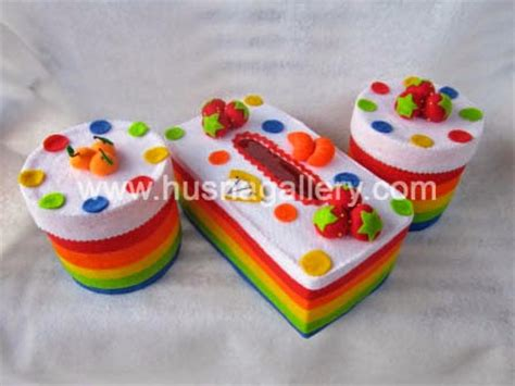 membuat gantungan kunci dari kain flanel pin buah flanel cake ideas and designs