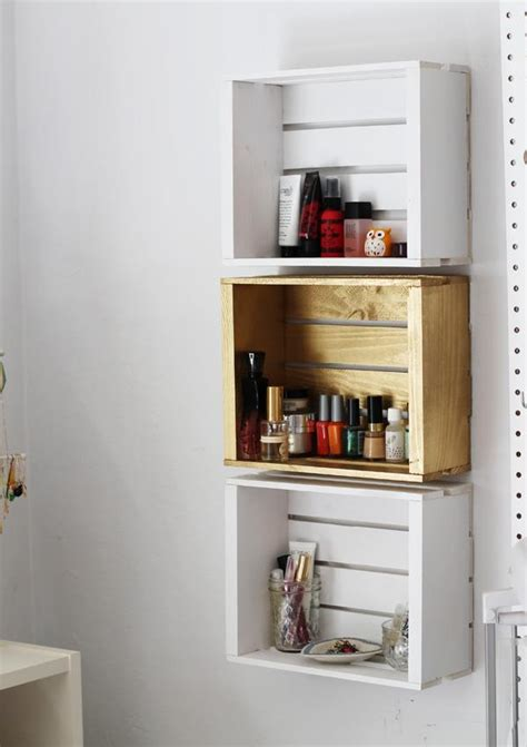 bathroom shelves diy 10 unique diy shelves for home storage diy and crafts