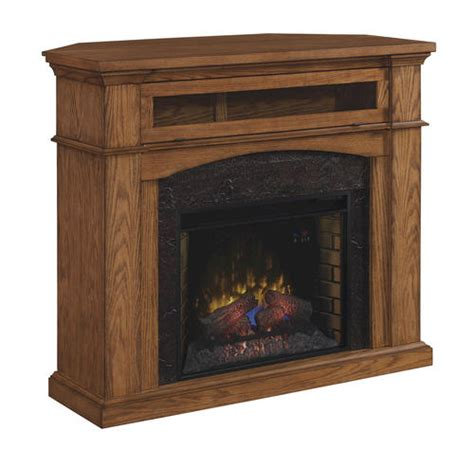54 quot oakwood dual mantel in premium oak at menards 174