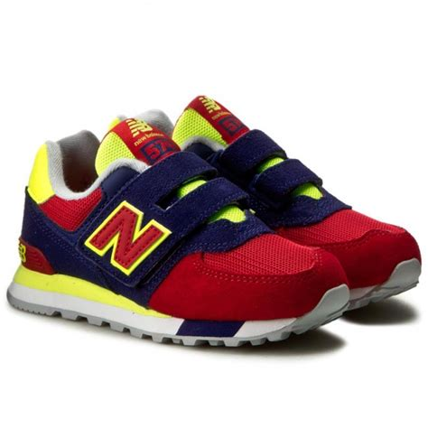 colorful new balance 574 sneakers new balance kv574wiy colourful velcro low