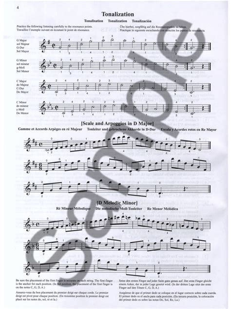 Suzuki Violin 4 Pdf Sheet Suzuki Violin School Volume 4 Violin Part