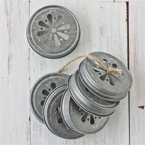 decorative mason jar lids organization containers pinterest