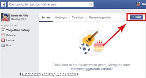 membuat undangan via facebook cara membuat acara undangan di facebook