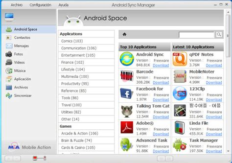 manager for android android sync manager wifi