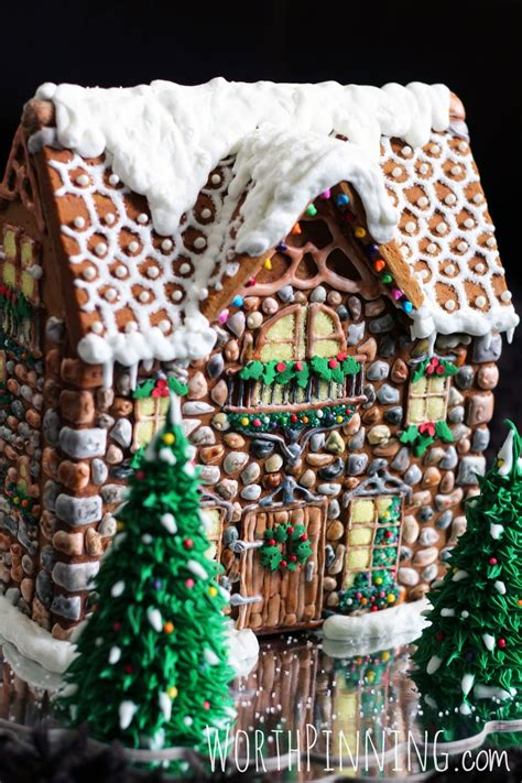 how to make a gingerbread house boston architecture competition worth pinning stone gingerbread house