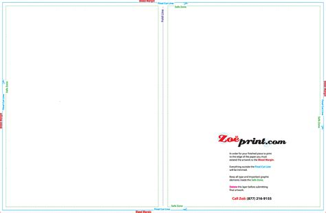 5x7 folded card template for publisher templates