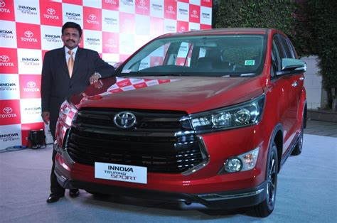 Toyota Innova Price Toyota Innova Touring Sport Launched In India