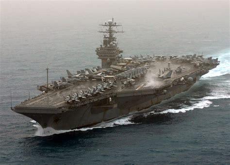 portaerei roosevelt uss theodore roosevelt cvn 71 currently deployed powers