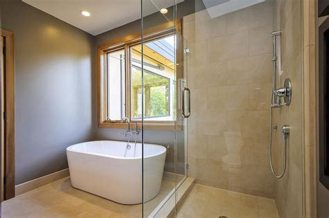 contemporary style home in burlingame california glass shower modern bath modern home in burlingame