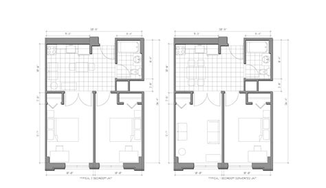 Floor Plan Planning by Plans 187 Student Residence 187 Bumc