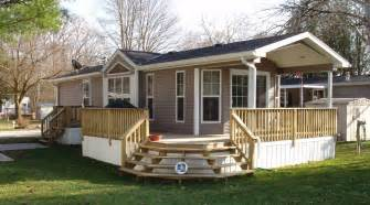 mobile homes new home cropped in decks and porches for mobile homes