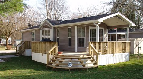 new home cropped in decks and porches for mobile homes