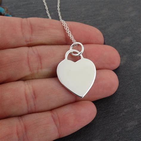 personalized engraved jewelry personalized pendant necklace custom engraved 925 sterling silver ebay