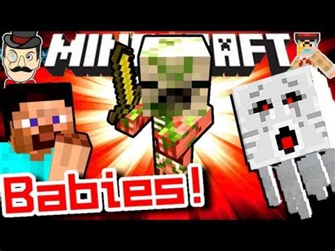 how to make a zombie baby youtube minecraft new baby zombie pigmen in 1 6 2 youtube
