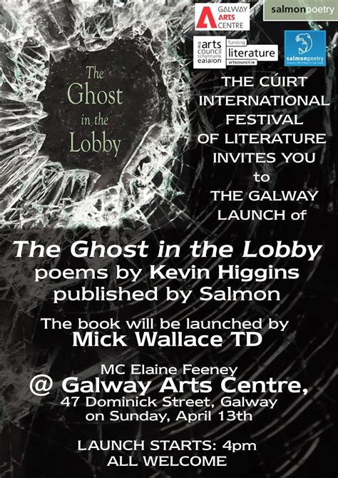 the ghosts of galway books mentioning the war of poet critic workshop