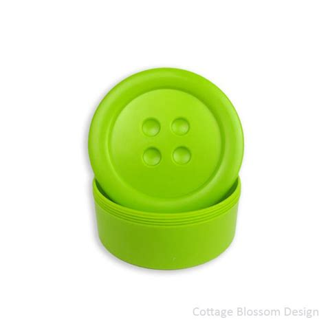 button storage containers button storage box 3 inch small lime green button