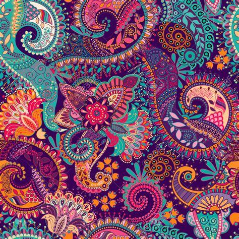 paisley pattern wallpaper vector 45889865 paisley seamless pattern floral wallpaper fantasy
