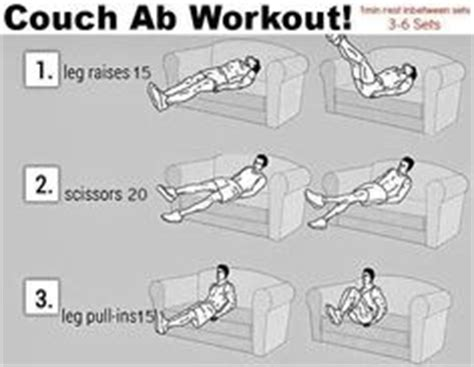 couch exercises at home workouts on pinterest towel workout couch