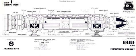 blueprint designs space 1999 catacombs the eagles