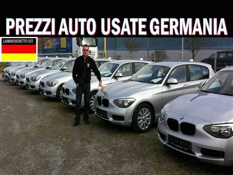 mobile de germania prezzi auto usate in germania
