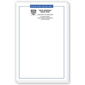 from the desk of notepads promotional products large from the desk of personalized
