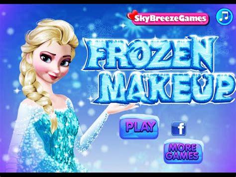 Disney Frozen Princess Elsa- Frozen Makeup- Fun Online ... Kids Games For Girls Disney Free Online