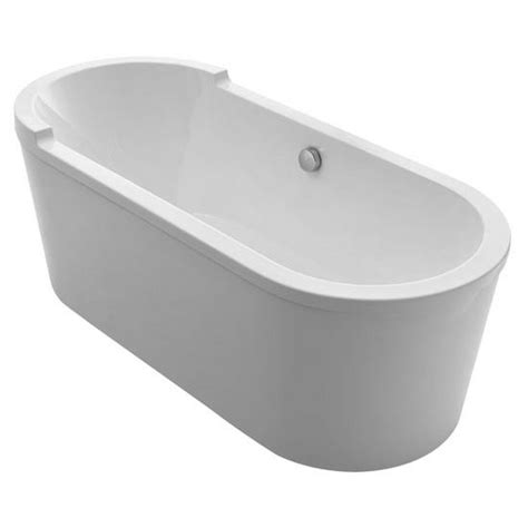 double wide bathtub bathhaus collection oval double ended single sided armrest