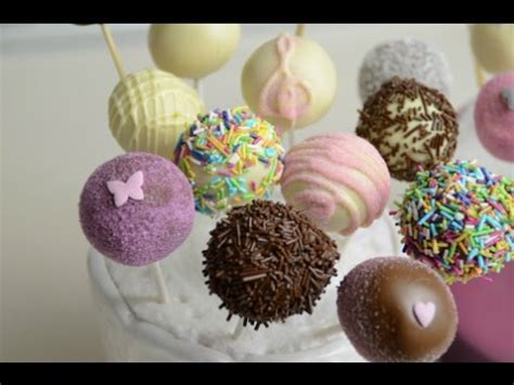 Cake Pops decorating ideas for birthday party   YouTube