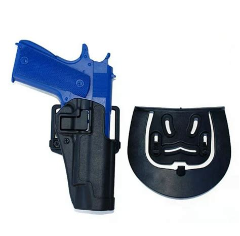 1911 Blackhawk Cqc Holster Style Plastic Tactical Holster Usa blackhawk style serpa cqc holster tactical 1911 plastic belt holster for gun colt 1911 in