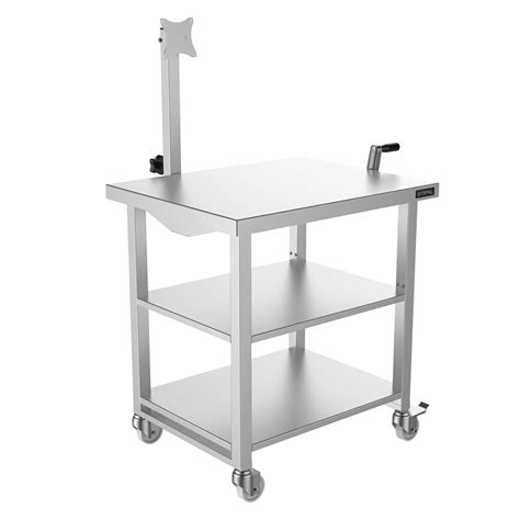 Computer Desk Height Adjustable Height Adjustable Computer Desk Uk Manufacturer Syspal Uk